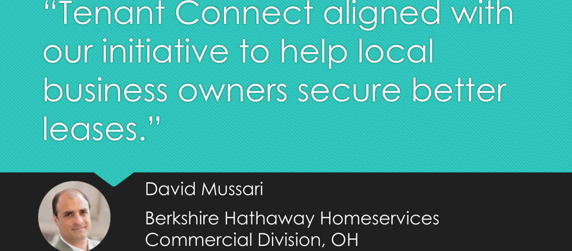 David Mussari Tenant Connect